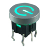 Illuminated tact switch ITS-B008 LED type